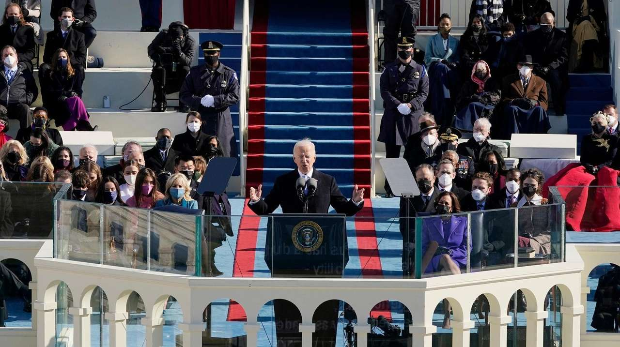 """Biden assailed """"a rise of political extremism, white"""