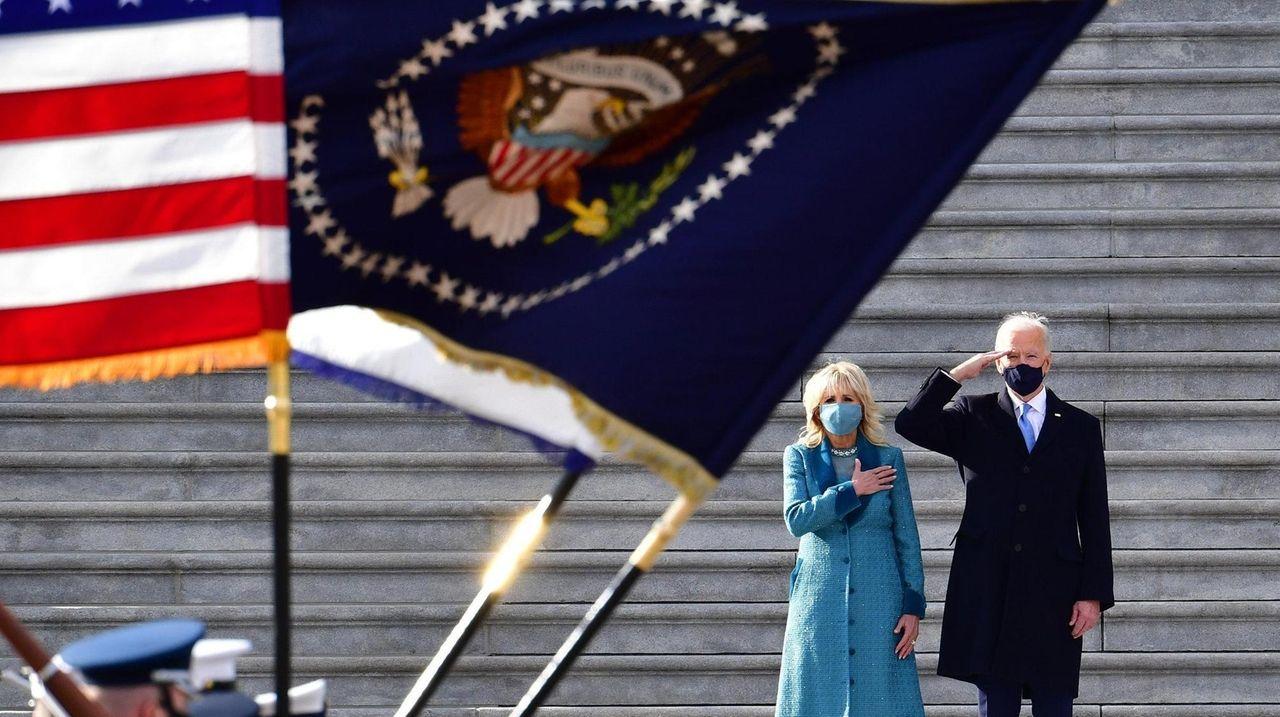 Joe Biden was sworn in as 46th president