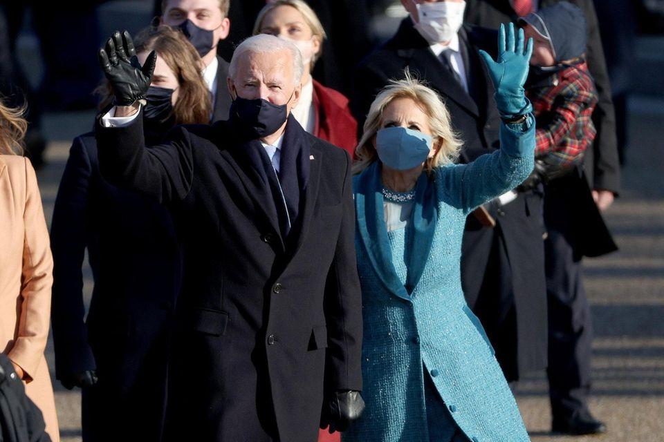 U.S. President Joe Biden and First Lady Dr.