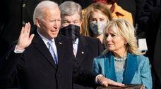Joe Biden is sworn in as the 46th