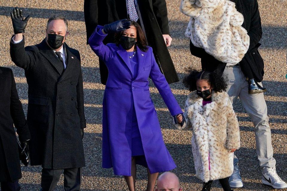Vice President Kamala Harris and her husband Doug