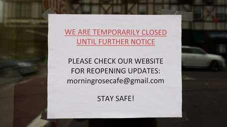 Citing difficult times, Morning Rose Cafe in Bellmore