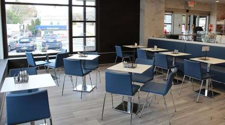 The new cafe area at Buttercooky Bakery in