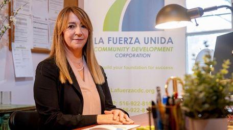 Giovana Bracchi of La Fuerza Community Development Corp.