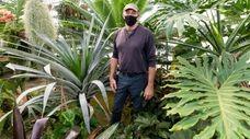 Dennis Schrader stands inside Landcraft Environments in Mattituck.