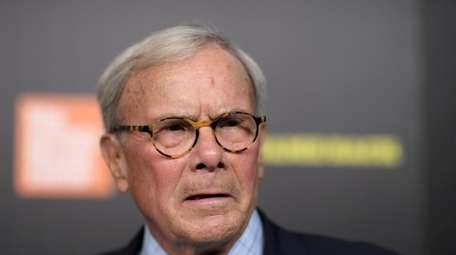 """Tom Brokaw attends the """"Five Came Back"""" world"""