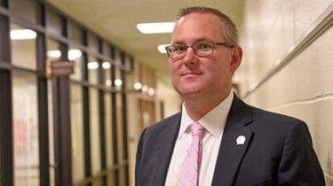 Hampton Bays schools Superintendent Lars Clemensen in 2018.