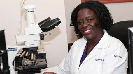 Dr. Odette Hall is Suffolk County's chief medical