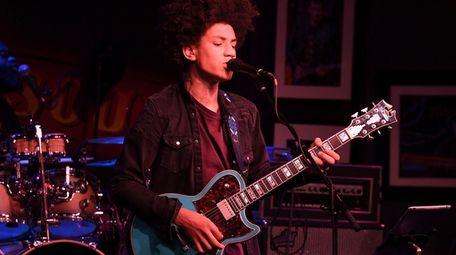 "Brandon ""Taz"" Niederauer, seen performing in December 2020"
