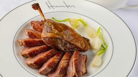 Duck a L'Orange at Hunter Restaurant in East