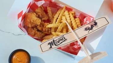 Kids meals at Hot Chicken Mama in Blue