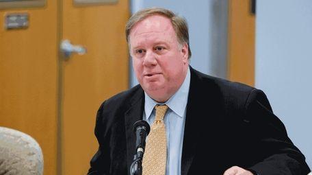 Commack schools Superintendent Donald James in 2015.