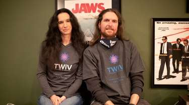 Jason Munn, seen with his wife Liz at