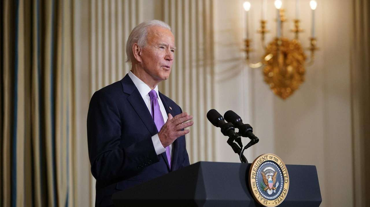 President Biden delivers remarks outlining his racial equity