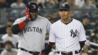 David Ortiz and Alex Rodriguez will be the