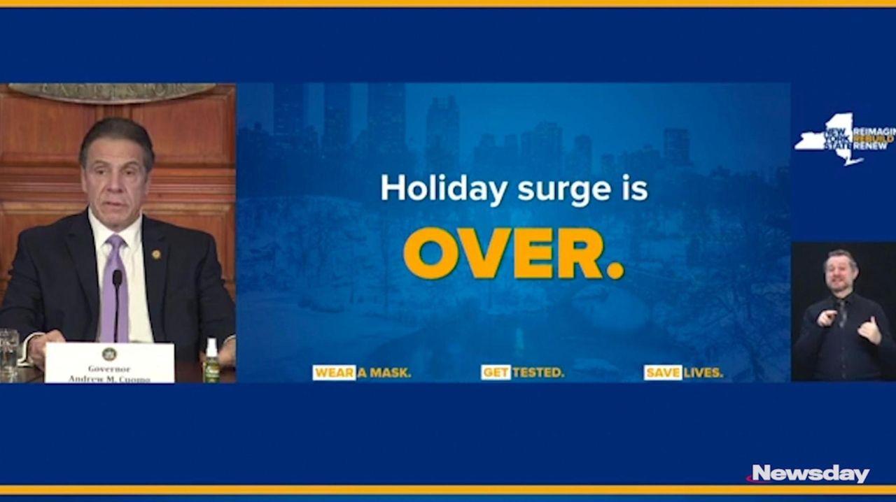 Gov. Andrew M. Cuomo said Wednesday the state