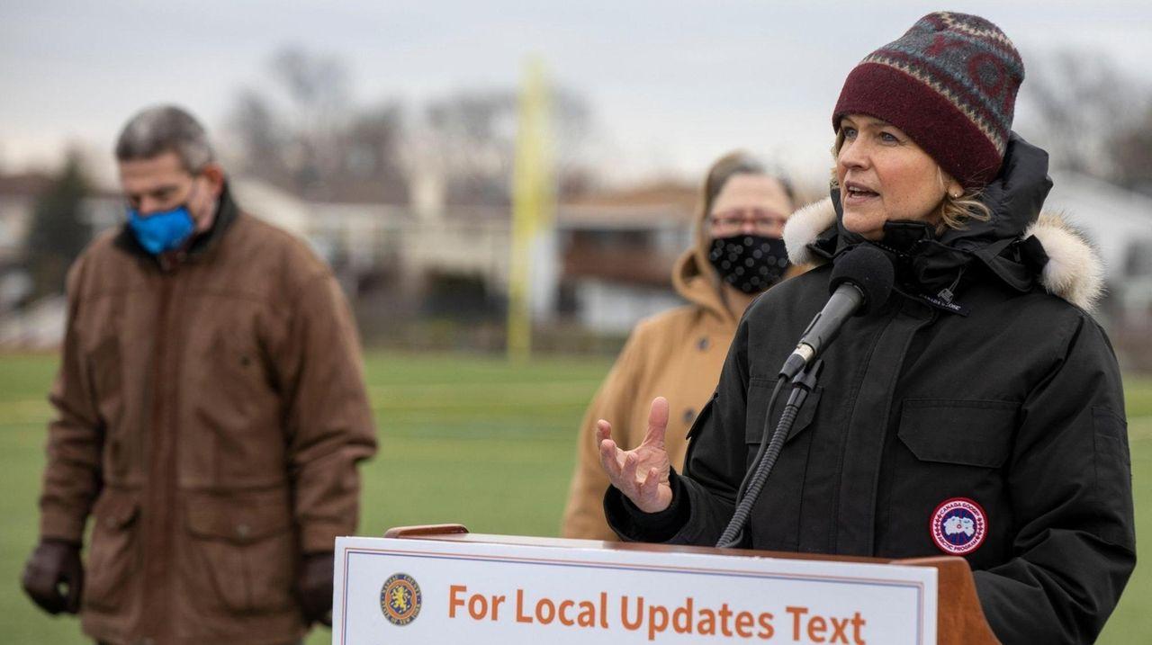 Nassau County Executive Laura Curran  on Wednesday