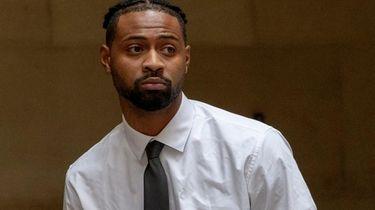 Former Nassau Community College basketball player Dana King