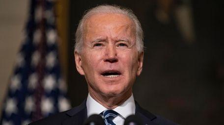 President Joe Biden on Wednesday. Going forward, Biden