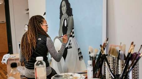 "Amy Sherald in HBO's ""Black Art: In the"