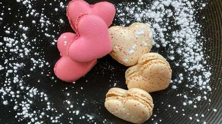 Marketplace at 317 in Farmingdale has heart-shaped macarons,