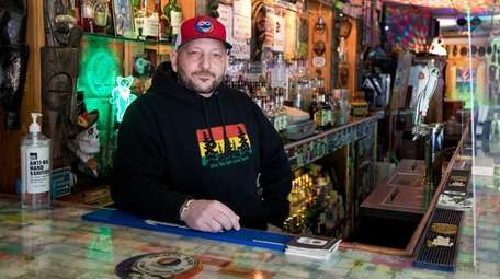 """Anthony """"Beau"""" Carino, owner of Beau's Bar in"""