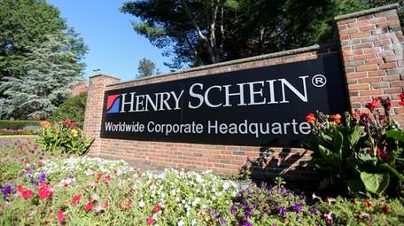 Henry Schein's 290,000-square-foot headquarters in Melville is home