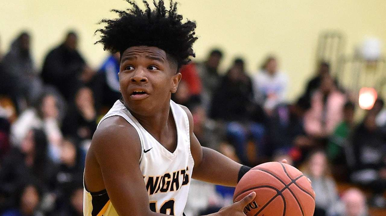 Jo-Jo Wright, an exceptional sophomore point guard from