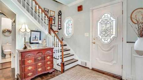 From the entrance foyer to the living room,