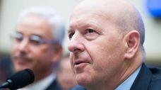David Solomon, chairman and CEO of Goldman Sachs,