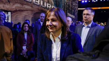 Mary Barra, chair and CEO of General Motors,