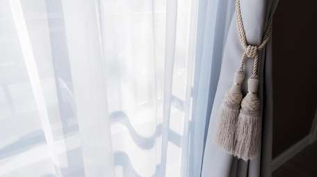 Curtains help control the flow of light and