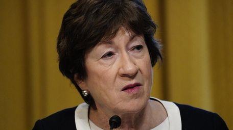 Sen. Susan Collins of Maine is one of