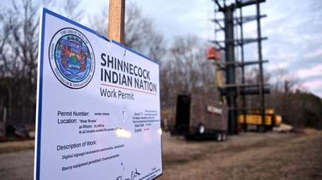 The Shinnecock Indian Nation on Sunday refused a