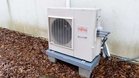 The compressor, one of the two cold climate