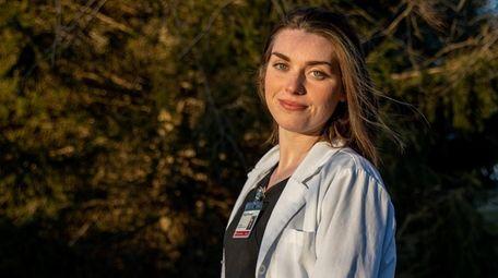 Stony Brook paramedic student Bridget Kennedy.