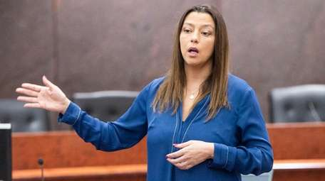 Then-State Sen. Monica Martinez (D-Brentwood) in 2019 in