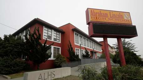 Abraham Lincoln High School in San Francisco. The