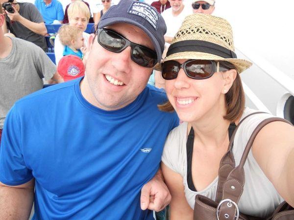 Eric Leggio and Alicia Armstrong-Leggio of Long Beach