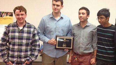 Garden City High's winners last month in the
