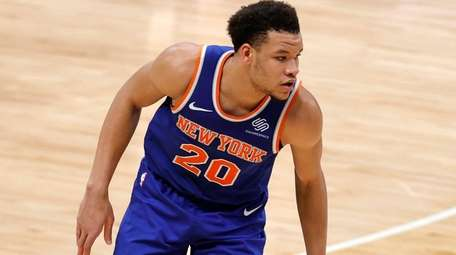 Kevin Knox II of the New York Knicks