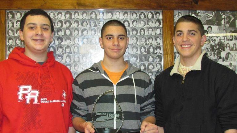 The team from Elwood-John H. Glenn High School