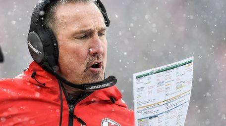 Kansas City Chiefs Defensive Coordinator Steve Spagnuolo during