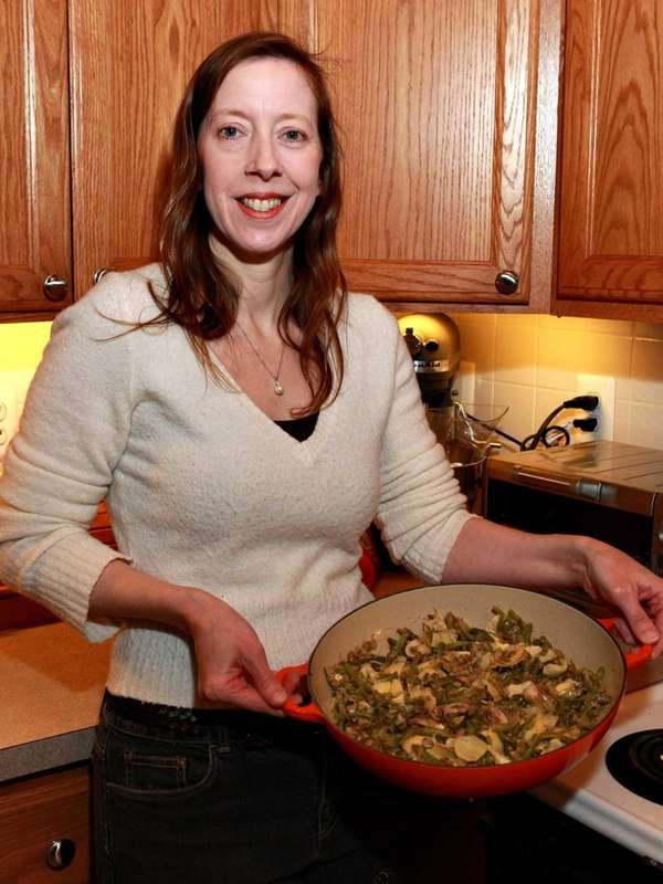 Nutritionist Denise Hall, who grew up on Cajun