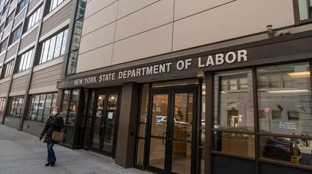 The state Department of labor has identified over