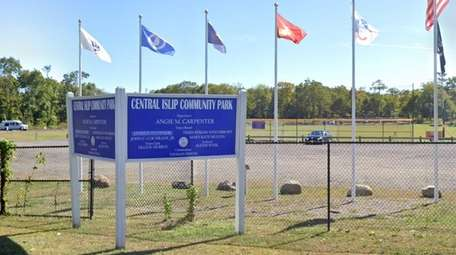 Central Islip Community Park, where four young men