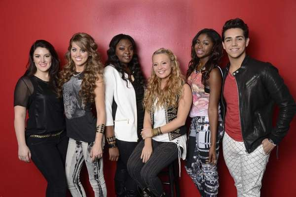 """American Idol"" - Top 6: from left, Kree"