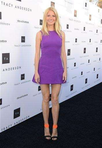 Gywneth Paltrow arrives at the opening of the