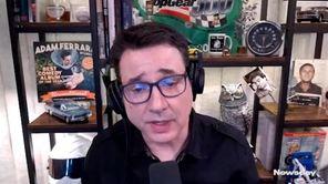 Newsday reporter David J. Criblez interviewed comedian Adam