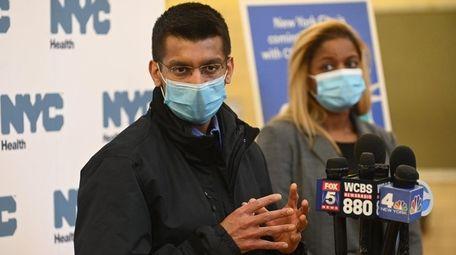 New York City Health Commissioner Dr. Dave Chokshi,